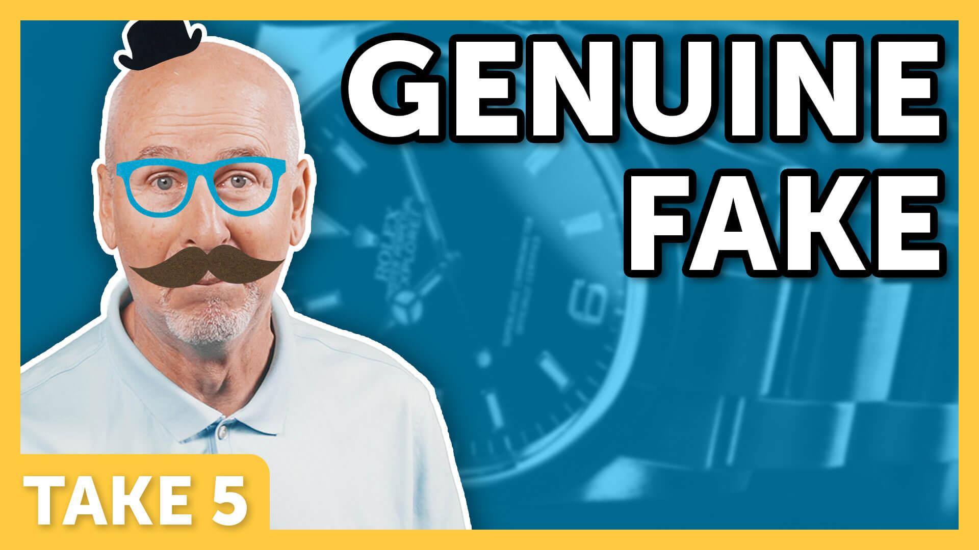 Genuine Fake - Laugh Again Take 5 with Phil Callaway   Laugh Again TV
