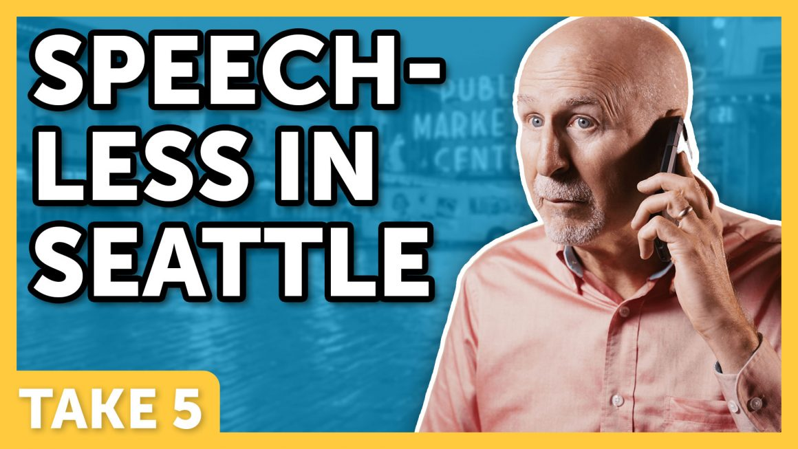 Speechless in Seattle - Laugh Again TV with Phil Callaway